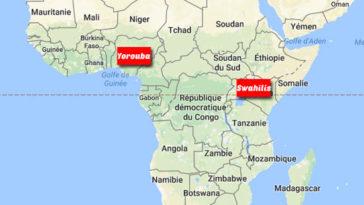 Langues plus parlées en Afrique