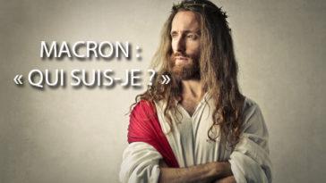 Macron nouveau Jésus-christ