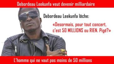 Debordeau Leekunfa milliardaire