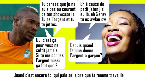 Josey Priscille humour Serey Dié