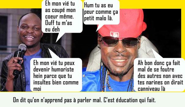 Clash entre Petit Denis Willy Dumbo