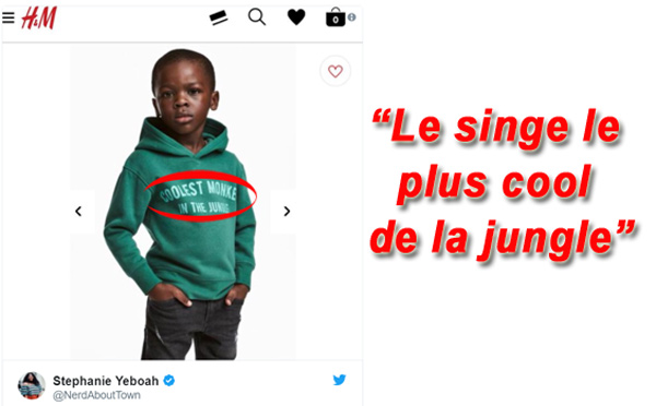 H&M : Le singe le plus cool de la jungle