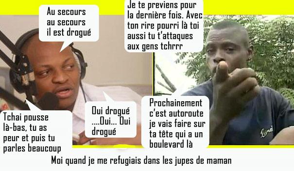 Humour ivoirien Petit Denis