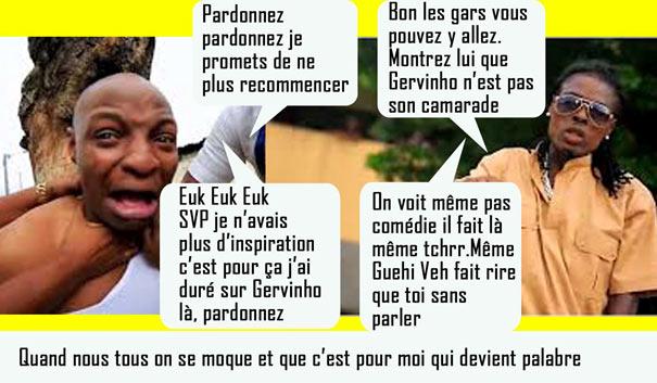 Humour ivoirien clash artiste