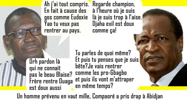 Retour Blaise Compaore