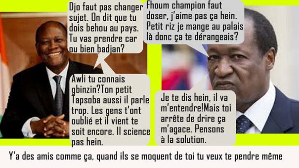 Retour Blaise Compaoré