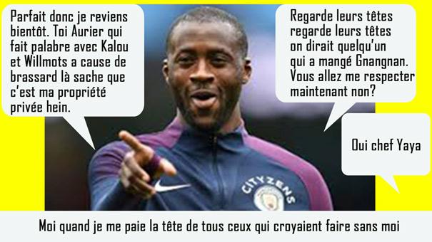 Yaya Touré humour