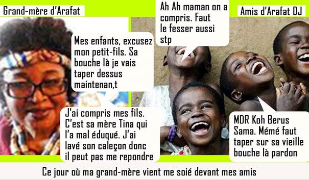 Arafat DJ grand mère Arafat