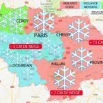 Alerte Carte neige île de France