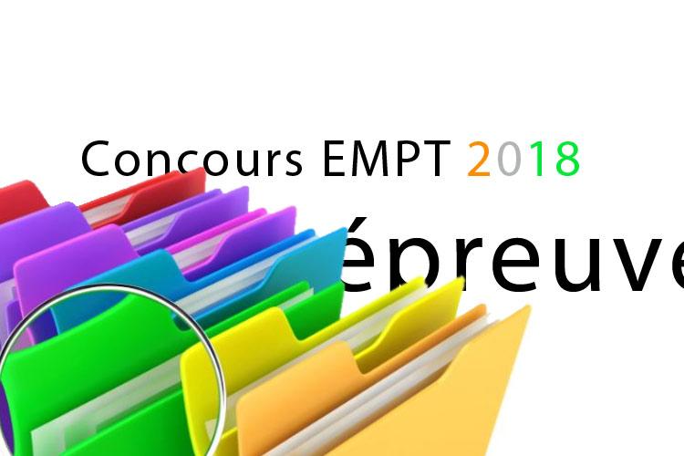 Concours Empt ci 2018