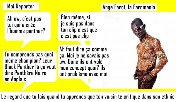 Ange Farot plagia black panther