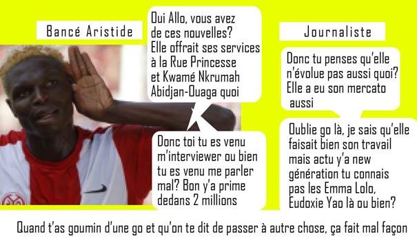 Aristide Bance actu