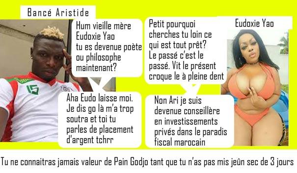 Eudoxie Yao et Bancé
