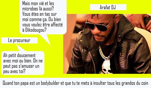 Actu DJ Arafat