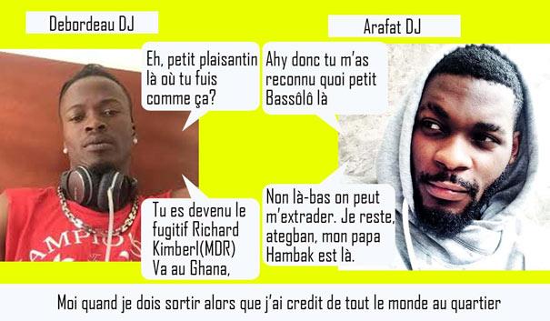 Debordeau DJ Arafat