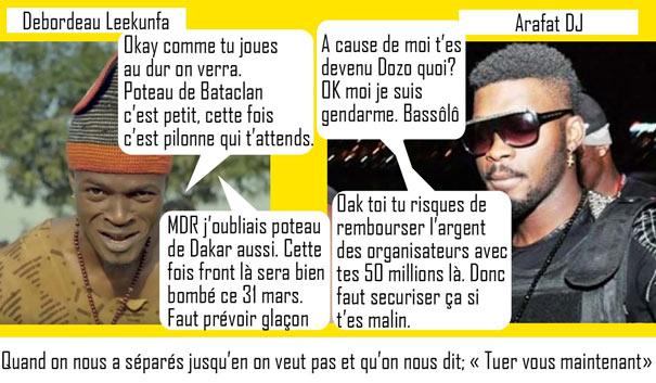 DJ Arafat debordo leekunfa parodie