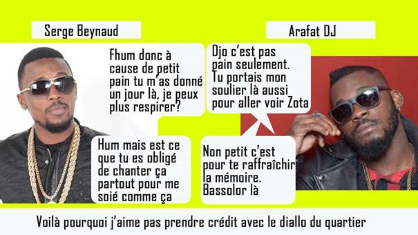 Arafat Dj et Serge Beynaud