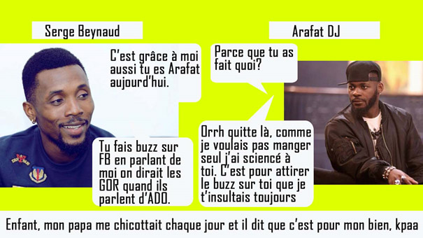 Actu Dj Arafat Serge Beynaud
