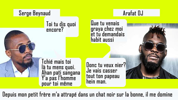 Actu Serge Beynaud Arafat dj
