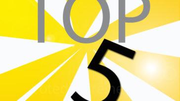 Coupé décale top 5