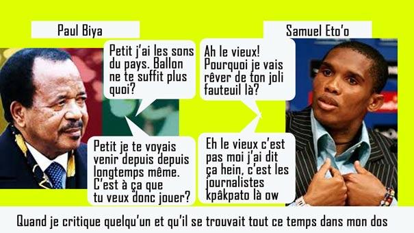 Samuel eto'o Paul Biya