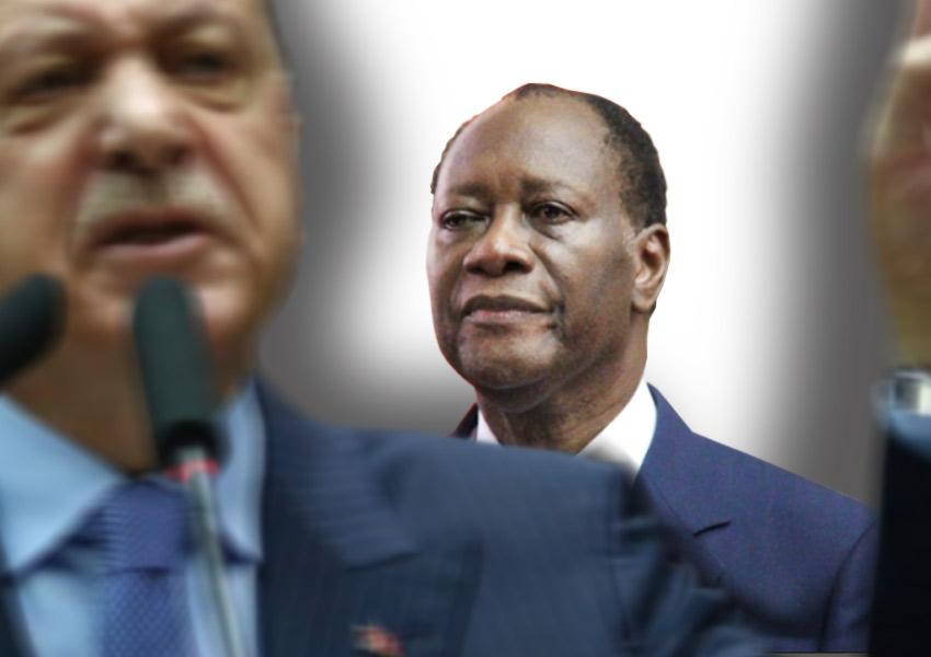 """Ouattara et Erdogan """"le dictateur"""""""