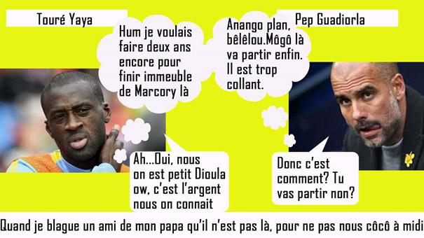 Yaya Touré Pep Guardiola