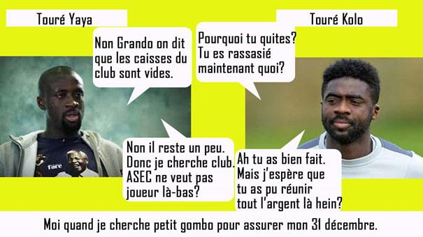 Yaya Touré VS Touré Kolo