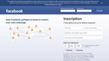 Facebook chute ados