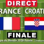 Match Finale: France - Croatie