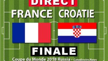 Match Finale: France - Croatie