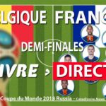 Match France Belgique coupe du monde 2018