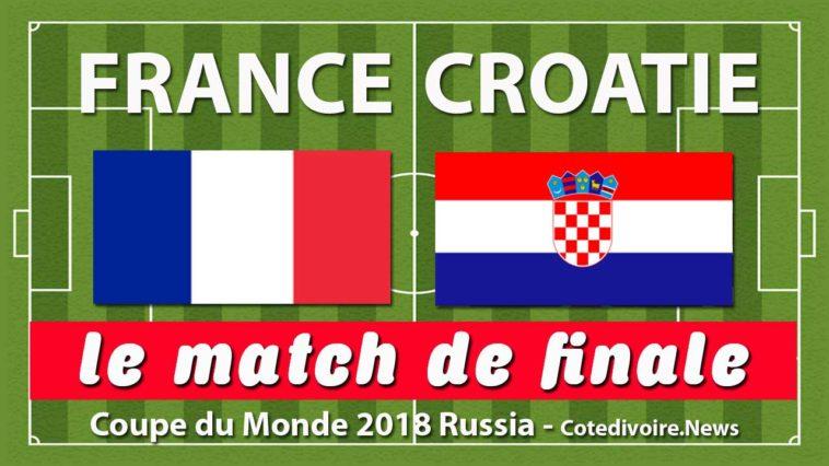 Finale coupe du monde 2018 date croatie vs france le 15 - Date de la finale de la coupe de france ...