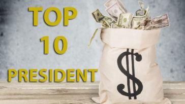 Président riche top 10