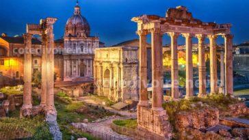 Rome ville Unesco en Italie