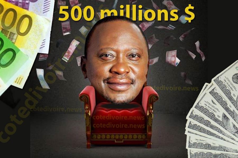 Uhuru Kenyatta Top 2 des fortunes