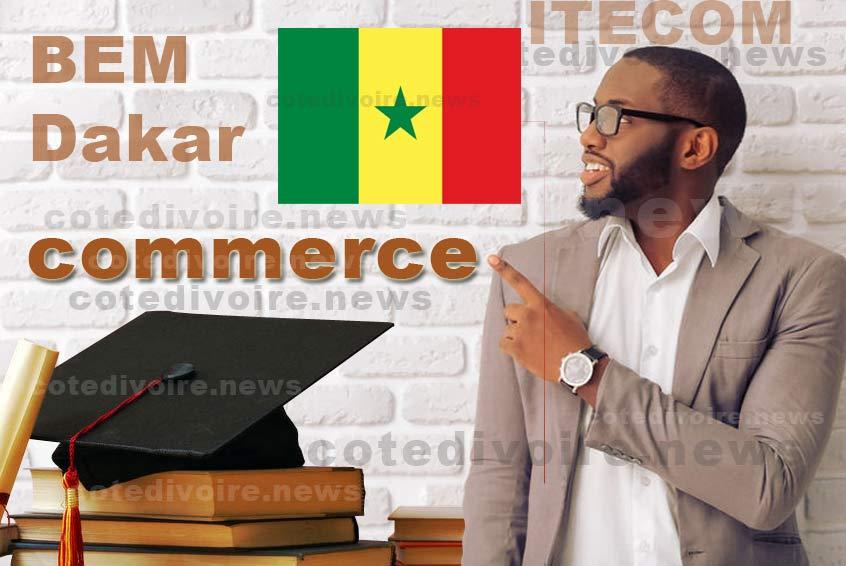 Ecole de commerce à Dakar