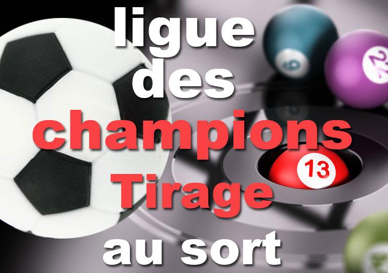 Tirage au sort ligue des champion 2019