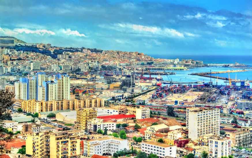 Ville d'Alger en Algerie