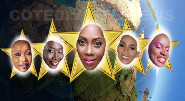 Chanteuses Afrique connue