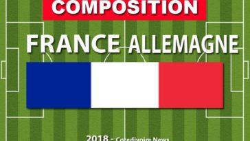 Composition équipe France