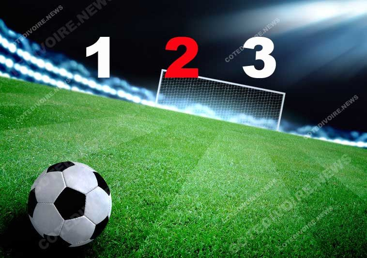 football résultat match 1