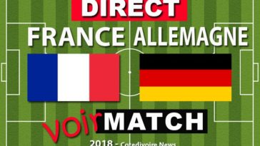 Match France contre Allemagne 6 septembre
