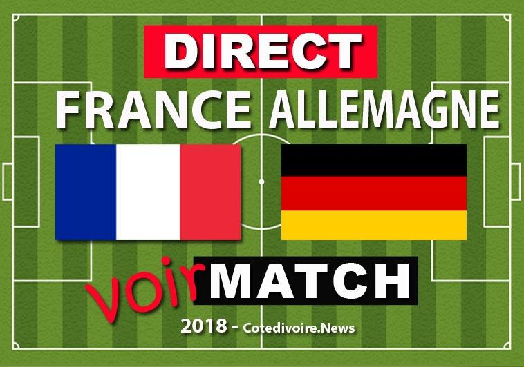 Match France contre Allemagne 6 septembre