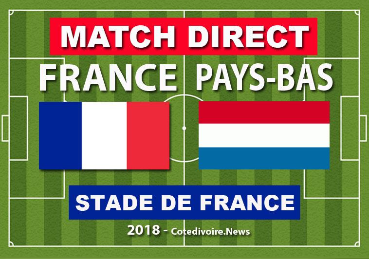 Match en Direct : France - Pays-Bas