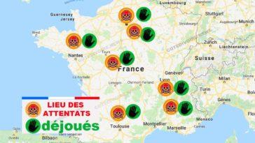 Attentats déjoués en France
