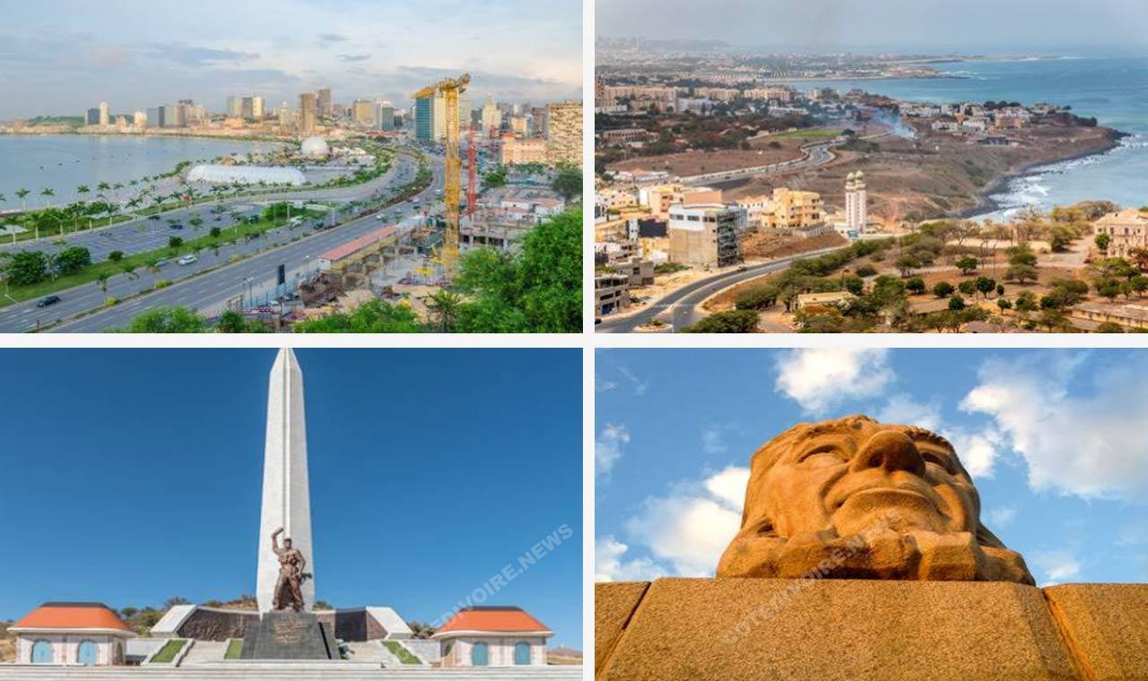 Belles villes mégapoles d'Afrique
