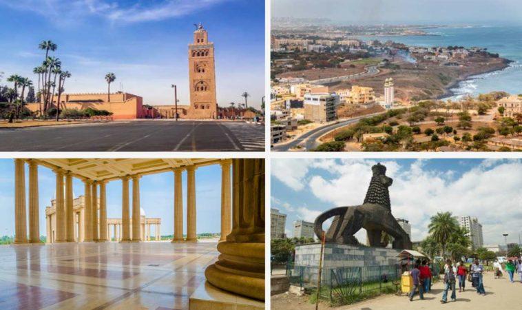 Belles villes Afriques