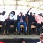 Campagne éléctorale à Bouaké en Côte d'ivoire