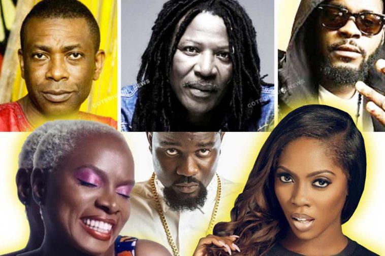 Chanteurs (se) africains de l'ouest
